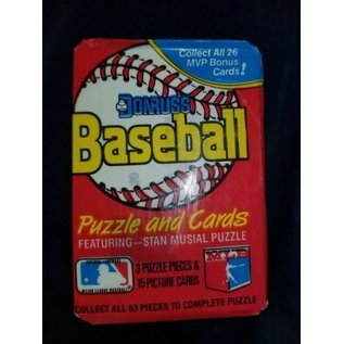 Collectible Cards Leaf Donruss Baseball 36 Count Puzzle & Cards 1988