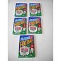 LOT OF 5 FLEER 1991 FOOTBALL CARDS