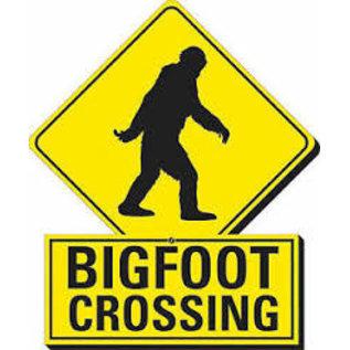 Rocket Fizz Lancaster's Bigfoot Crossing Funky Chunky Magnet