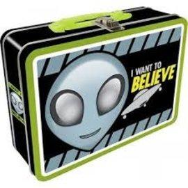 Rocket Fizz Lancaster's Alien Believe Lunchbox