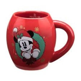 Rocket Fizz Lancaster's Disney Mickey Mouse Holiday 18 oz. Oval Ceramic Mug