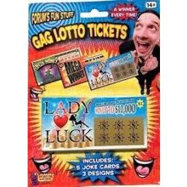 Gag Lotto Tickets-5/Bc