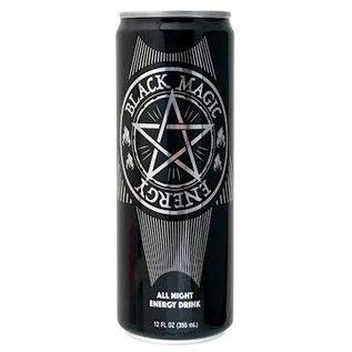 Soda at Rocket Fizz Lancaster Black Magic Energy Drink