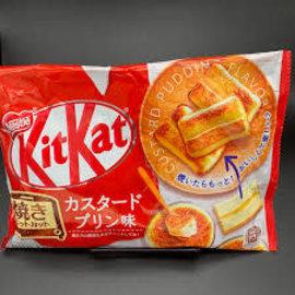 Kit Kat  Custard Pudding Flavor