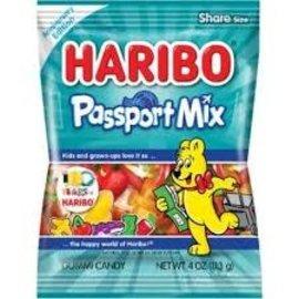 Haribo of America, Inc Haribo Passport Mix Peg Bag