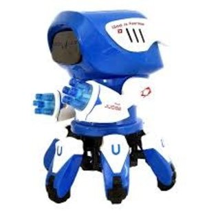 Toys of Rocket Fizz Lancaster Electric six claw Robot Climb Octopus spider Robots Acousto-optic toy Brithday gift Toys for children kids baby