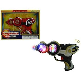 """Toys of Rocket Fizz Lancaster Toy Gun Battery Operated Vibrate with light & Sound (Battery Included) 8.5"""""""