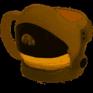 Rocket Fizz Lancaster's Apollo Helmet Sculpted Ceramic Mug