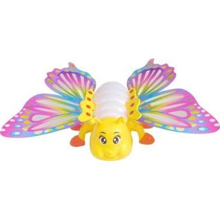 Toys of Rocket Fizz Lancaster Beautiful Butterfly Unlimited Experience Together Jungle Musical toy for kids and children with Lights Up & Moves  (Multicolor)