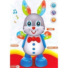 Toys of Rocket Fizz Lancaster DANCING RABBIT FUNNY BUNNY PET LIGHTS MUSIC CHILD BOY GIRL 3+ FUN PLAY KIDS TOYS