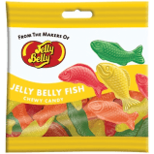 Jelly Belly Candy Company Jelly Belly Peg Bag Fish Chewy Candy 2.8oz