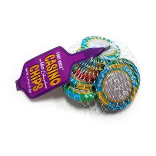 Rocket Fizz Lancaster's Castle Chocolate Casino Chips Mesh Bag