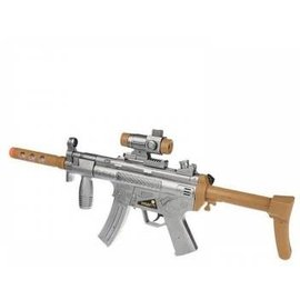 Toys of Rocket Fizz Lancaster Flashing-VIbration Machine Gun