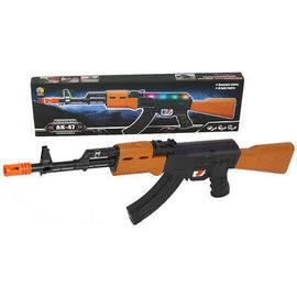 Toys of Rocket Fizz Lancaster AK-47 Flashing-Machine Gun w/Sound