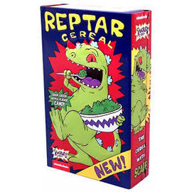 Rocket Fizz Lancaster's Nickelodeon Rugrats Reptar Cereal Candy Tin