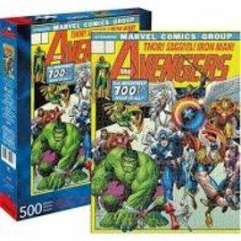Rocket Fizz Lancaster's Marvel Avengers Cover 500pc Puzzle