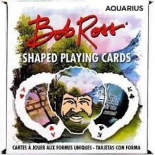 Rocket Fizz Lancaster's Bob Ross Shaped Playing Cards