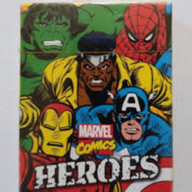 NMR Distribution Marvel Heroes Comics Playing Cards