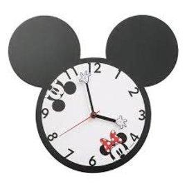 Rocket Fizz Lancaster's Disney Mickey & Minnie Mouse Shaped Deco Wall Clock