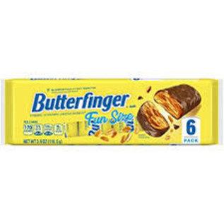 Rocket Fizz Lancaster's Butterfinger Fun Size Bars 6 Pack Tray, 3.9 Oz