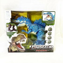 Toys of Rocket Fizz Lancaster DINOSAUR SPINOSAURUS - Swings Head - Mouth Moves - Glow - Sound - Electronic