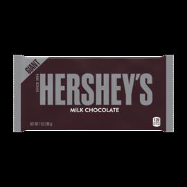 Hershey Chocolate USA Hershey Milk Chocolate Giant Bar 7 oz