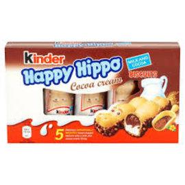 Ferrero USA Kinder Happy Hippo Cocoa 5 Pc