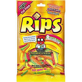 The Foreign Candy Company Rips Rainbow Peg Bag