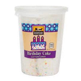 Pennsylvania Dutch PDC Birthday Cake Cotton Candy Tub