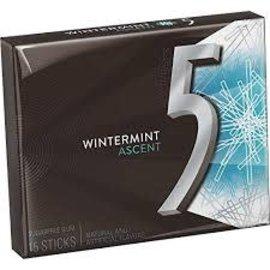 MARS Wrigley 5 Ascent Wintermint 15pc Gum
