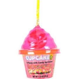 Rocket Fizz Lancaster's Cupcake Dip-N-Lik Lollipop & Candy
