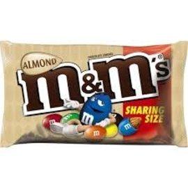 MARS Wrigley M&M Almond Share Size