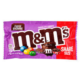 MARS Wrigley M&M's Fudge Brownie Chocolate Candies Share Size