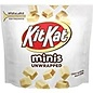MARS Wrigley Hershey (1) Bag Kit Kat Minis Unwrapped - Crisp Wafers in White Creme Candy Pieces - Net Wt. 2.4 oz