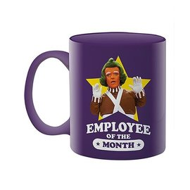 Rocket Fizz Lancaster's Willy Wonka Employee of the Month 11oz Boxed Mug