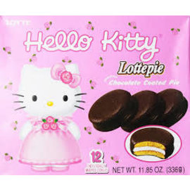 Asian Food Grocer Lotte Hello Kitty Chocolate Pie