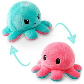 Rocket Fizz Lancaster's TeeTurtle Reversible Octopus Plushie Plush Toy , Satisfying Reversible