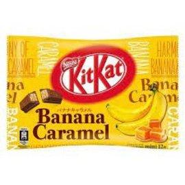 Asian Food Grocer Kit Kat - Banana Caramel Flavor