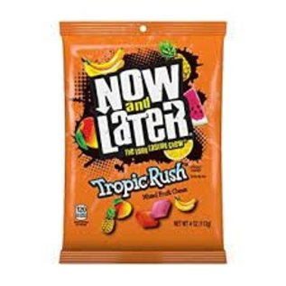 Rocket Fizz Lancaster's Now and Later Tropic Rush Mixed Fruit Chews Candy - 4.0 oz