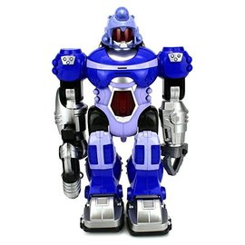 Toys of Rocket Fizz Lancaster Warrior Robot with Light and Sound, Yellow/Blue