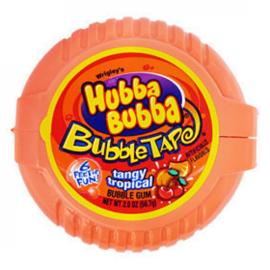 Pop Rocks, Inc. Hubba Bubba Bubblegum Tape Tangy Tropical