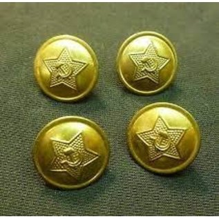 BRASS SOVIET ARMY BUTTONS