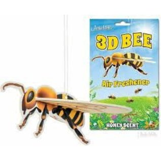 3D Bee Honey Scented Deluxe Air Freshener