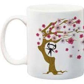 NMR Distribution Ninja Kitty Blossom Mug