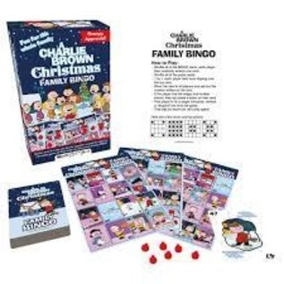 NMR Distribution Charlie Brown Christmas Family Bingo