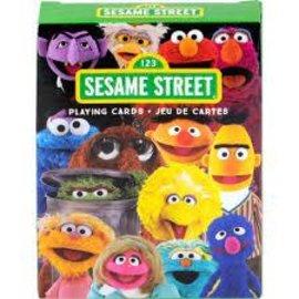 Rocket Fizz Lancaster's Sesame Street Cast Playing Cards