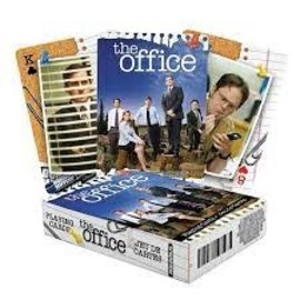 NMR Distribution The Office Cast Playing Cards