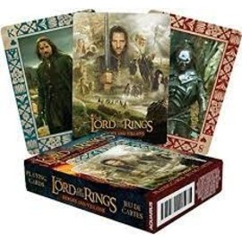 NMR Distribution Lord of the Rings Heroes and Villains Playing Cards