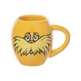 Vandor Dr. Seuss The Lorax I Speak For The Trees 18 oz. Oval Ceramic Mug