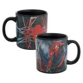 Rocket Fizz Lancaster's Marvel Spider-man 20 oz. Ceramic Heat Reactive Mug
